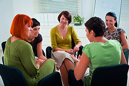 Geting away from diet head mentality - Group of women discuss