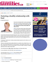 Fostering a healthy relationship with food - Montreal Families - September 2014 - Montreal.pdf-1